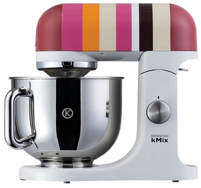Разноцветная модель украсит любую кухню
