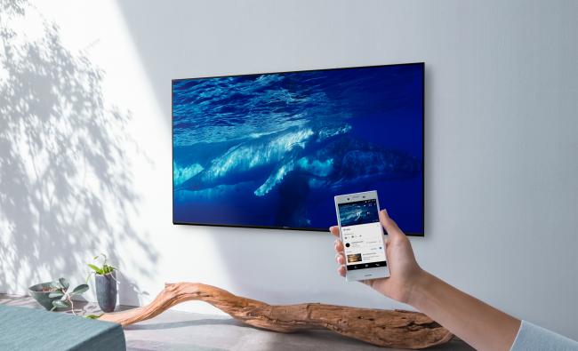 Телевизор Sony BRAVIA с обновленным Android 6.0 Marshmallow