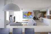 Фото 18 Световое панно на стену: оригинальные варианты освещения для квартиры или дома