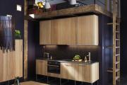 Фото 18 Элегантные кухни с темным полом: 80+ фотоидей для лаконичных и стильных кухонных интерьеров