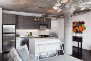 Фото 24 Элегантные кухни с темным полом: 80+ фотоидей для лаконичных и стильных кухонных интерьеров