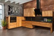 Фото 30 Элегантные кухни с темным полом: 80+ фотоидей для лаконичных и стильных кухонных интерьеров