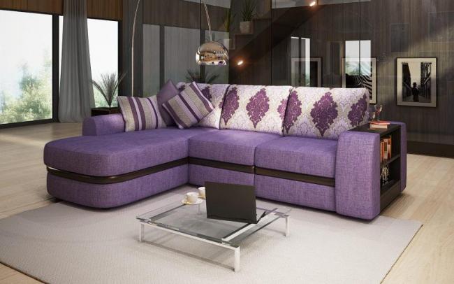 Изобилие вариантов отделки дивана позволяет выбрать ту модель, которая впишется не только в ваш интерьер, но и бюджет