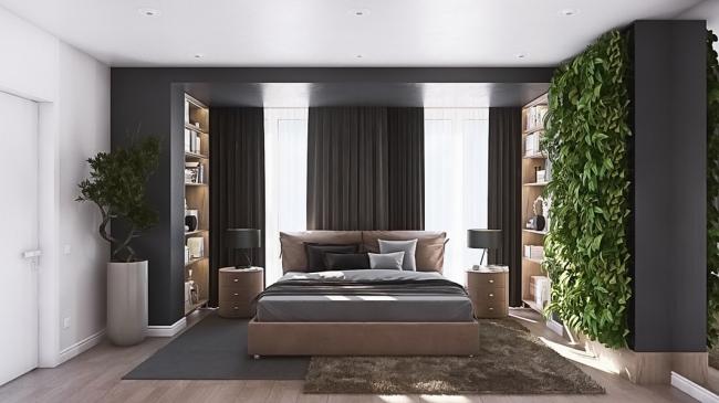 Вертикальный сад поможет нормализовать сон и восстановить силы