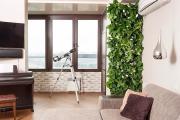 Фото 1 Вертикальный сад в квартире: 60+ потрясающих идей зеленого уголка своими руками