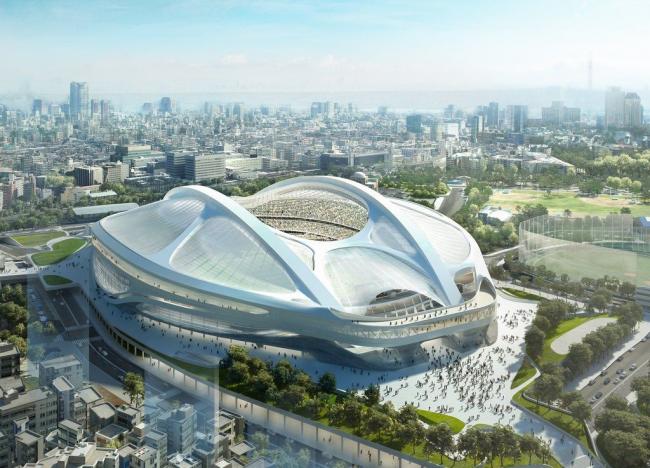Проект олимпийского стадиона в Токио