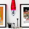 Лава-лампа в интерьере: cоветы по выбору необычного светильника с пузырьками фото