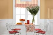 Фото 12 Обаяние пастельных тонов (65+ фото): персиковые обои в интерьере и варианты их лучших сочетаний
