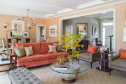 Фото 14 Обаяние пастельных тонов (65+ фото): персиковые обои в интерьере и варианты их лучших сочетаний