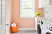 Фото 15 Обаяние пастельных тонов (65+ фото): персиковые обои в интерьере и варианты их лучших сочетаний