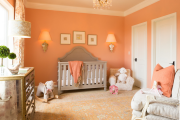 Фото 28 Обаяние пастельных тонов (65+ фото): персиковые обои в интерьере и варианты их лучших сочетаний