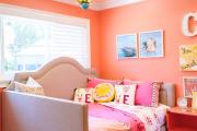 Фото 4 Обаяние пастельных тонов (65+ фото): персиковые обои в интерьере и варианты их лучших сочетаний