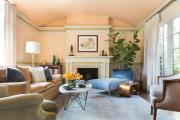 Фото 7 Обаяние пастельных тонов (65+ фото): персиковые обои в интерьере и варианты их лучших сочетаний