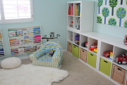 Фото 21 Варианты хранения игрушек в детской комнате: 60+ избранных идей и полезные советы родителям