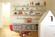 Фото 23 Варианты хранения игрушек в детской комнате: 60+ избранных идей и полезные советы родителям