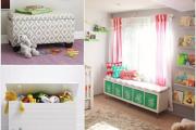 Фото 29 Варианты хранения игрушек в детской комнате: 60+ избранных идей и полезные советы родителям