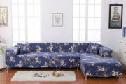 Фото 8 Чехлы на угловой диван: варианты обновления мебельной обивки и мастер-класс по пошиву