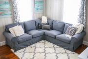 Фото 7 Чехлы на угловой диван: варианты обновления мебельной обивки и мастер-класс по пошиву