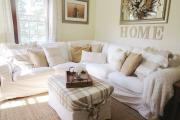 Фото 16 Чехлы на угловой диван: варианты обновления мебельной обивки и мастер-класс по пошиву