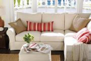 Фото 17 Чехлы на угловой диван: варианты обновления мебельной обивки и мастер-класс по пошиву
