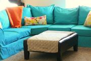 Фото 21 Чехлы на угловой диван: варианты обновления мебельной обивки и мастер-класс по пошиву
