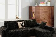 Фото 22 Чехлы на угловой диван: варианты обновления мебельной обивки и мастер-класс по пошиву