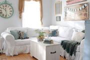 Фото 24 Чехлы на угловой диван: варианты обновления мебельной обивки и мастер-класс по пошиву