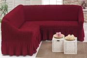 Фото 28 Чехлы на угловой диван: варианты обновления мебельной обивки и мастер-класс по пошиву