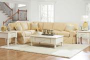 Фото 30 Чехлы на угловой диван: варианты обновления мебельной обивки и мастер-класс по пошиву