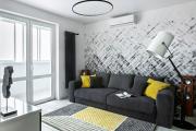 Фото 7 Черно-белая графика в интерьере (70+ фото): подборка восхитительных идеи дизайна для квартиры и дома