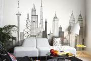 Фото 13 Черно-белая графика в интерьере (70+ фото): подборка восхитительных идеи дизайна для квартиры и дома