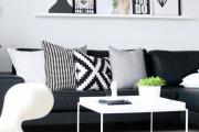 Фото 14 Черно-белая графика в интерьере (70+ фото): подборка восхитительных идеи дизайна для квартиры и дома