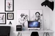 Фото 17 Черно-белая графика в интерьере (70+ фото): подборка восхитительных идеи дизайна для квартиры и дома