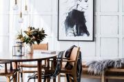 Фото 3 Черно-белая графика в интерьере (70+ фото): подборка восхитительных идеи дизайна для квартиры и дома