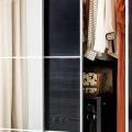 Выбор дизайнеров: 60+ фотоидей для лаконичного интерьера с черно-белым шкафом фото