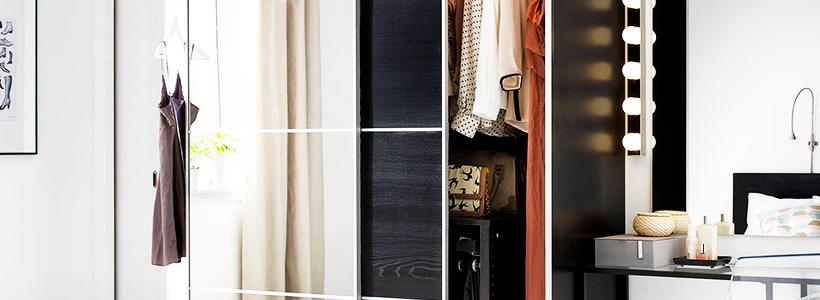 Выбор дизайнеров: 60+ фотоидей для лаконичного интерьера с черно-белым шкафом