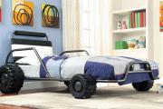 Фото 18 Детская кровать-машина для мальчика (60+ фото): критерии выбора, сравнение цен и когда ее действительно стоит покупать?