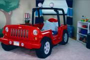Фото 5 Детская кровать-машина для мальчика (60+ фото): критерии выбора, сравнение цен и когда ее действительно стоит покупать?