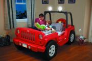 Фото 7 Детская кровать-машина для мальчика (60+ фото): критерии выбора, сравнение цен и когда ее действительно стоит покупать?