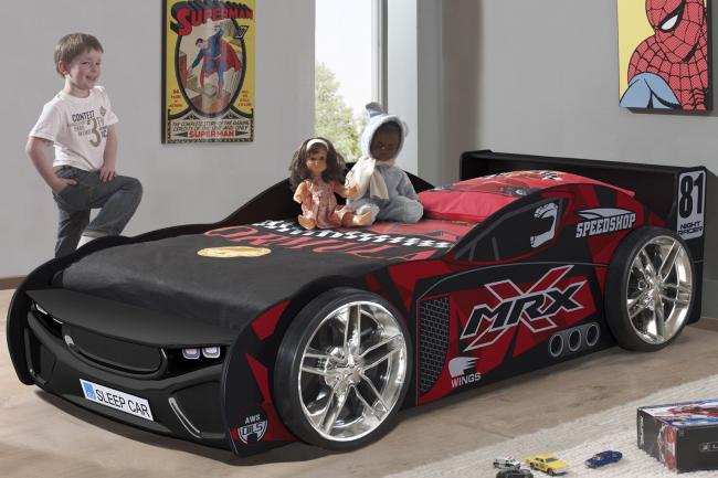 Супер-машина станет излюбленным местом игры и сна