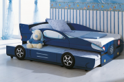 Фото 23 Детская кровать-машина для мальчика (60+ фото): критерии выбора, сравнение цен и когда ее действительно стоит покупать?