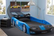 Фото 21 Детская кровать-машина для мальчика (60+ фото): критерии выбора, сравнение цен и когда ее действительно стоит покупать?