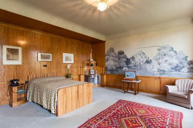 Фрески в дизайне спальни