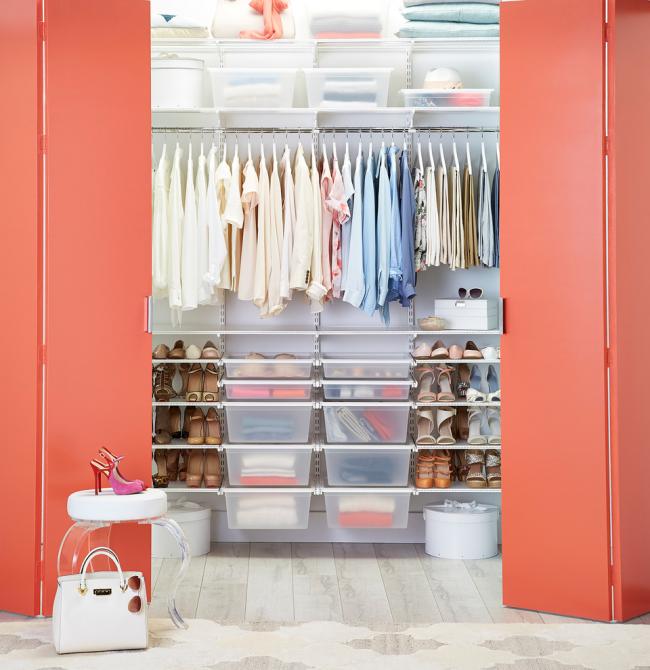 Благодаря своим достоинствам гардеробные системы Larvij становятся очень популярными