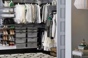 Фото 16 Функциональное пространство — гардеробные системы Larvij: популярные модели, варианты размещения и цены