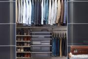 Фото 21 Функциональное пространство — гардеробные системы Larvij: популярные модели, варианты размещения и цены