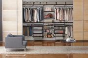 Фото 25 Функциональное пространство — гардеробные системы Larvij: популярные модели, варианты размещения и цены
