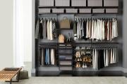 Фото 27 Функциональное пространство — гардеробные системы Larvij: популярные модели, варианты размещения и цены