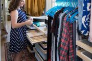 Фото 17 Функциональное пространство — гардеробные системы Larvij: популярные модели, варианты размещения и цены