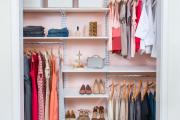 Фото 31 Функциональное пространство — гардеробные системы Larvij: популярные модели, варианты размещения и цены